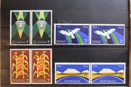 Südafrika 348-355 ** Postfrisch Als Paare #RS412 - South Africa (1961-...)