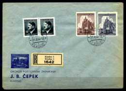 Z14480)Böhmen & Mähren 140/141 FDC - Occupazione 1938 – 45