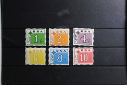 Südafrika Portomarken 72-77 ** Postfrisch #RS449 - South Africa (1961-...)