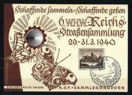 Z17130)DR WHW-Sonderkarte 1940 - Allemagne