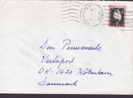 Norway TMS Cds. HOMANSBYEN Oslo 1973 Cover Brief To Denmark Volksmärchen Theodor Kittelsen Stamp - Norwegen