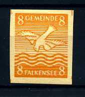 Z19051)Lokalausgabe Falkensee 3 U** - Sowjetische Zone (SBZ)