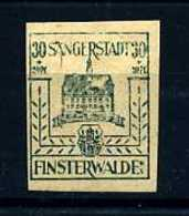 Z19068)Lokalausgabe Finsterwalde 9 I** - Zone Soviétique
