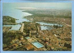 La Rochelle (17) Vue Générale Aérienne 2 Scans (Cliché Aérien J. Lang) Piscine - La Rochelle