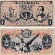 Colombie 1 Peso Oro - Colombia