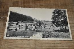 7016- CHINY, LE PONT ST. NICOLAS VU DE LA PLAGE- 1946 - Chiny