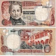 Colombie 500 Pesos Oro - Colombie