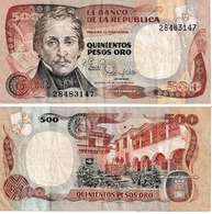 Colombie 500 Pesos Oro - Colombia