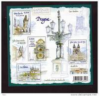 2008.BLOC N° 126** CAPITALES EUROPEENNES PRAGUE - Blocks & Kleinbögen