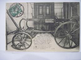 CPA 75 PARIS Hotel Des Invalides - Char Funèbre Napoleon 1er - Sainte Helene 1914 Cachet Musée De L'Armée T.B.E. - Autres