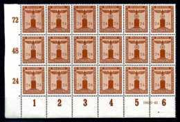 Z20390)DR Dienst 163, ER-18er-Block Mit HAN** - Officials