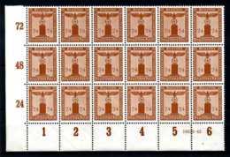 Z20397)DR Dienst 163, ER-18er-Block Mit HAN** - Dienstpost