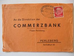 D.Reich Bahnpost Wittstock Wittenberge Kleinbahn, Briefvorderseite  - Non Classés