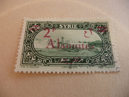 TIMBRE   ALAOUITES      N  42     COTE  8,50  EUROS   OBLITÉRÉ - Alaouites (1923-1930)