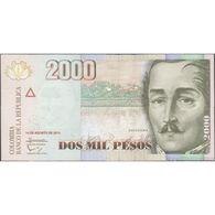 TWN - COLOMBIA 457v - 2000 2.000 Pesos 1.8.2014 UNC - Colombia