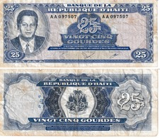 Haïti 25 Gourdes - Haiti