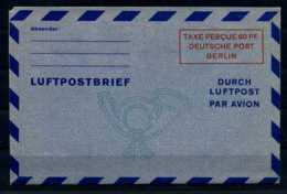 Z23025)Berlin Luftpostfaltbrief LF 2 Ungebraucht - Berlin (West)