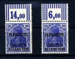 Z24485)Allenstein 5, OR Walze 2 Typen** - Abstimmungsgebiete