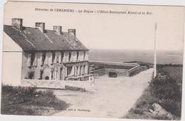 Bru 14 :  Manche :  Env.  De  Cherbourg : LA  HAGUE : L ' Hotel  Restaurant Mésnil Et La  Mer - France
