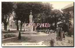 CPA Bagneres De Bigorre Le Monument Aux Morts - Bagneres De Bigorre