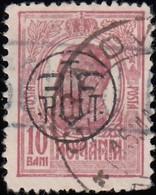 ROMANIA - Scott #247 King Carol I 'Overprinted' / Used Stamp - 1881-1918: Charles I