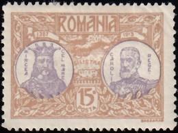 ROMANIA - Scott #234 Micrea Th Great And Carol I / Mint H Stamp - 1881-1918: Charles I