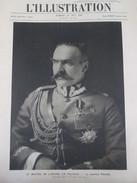 POLOGNE  Le Maréchal  PILSUDSKI  Polonais  Histoire Polonaise   Militaire Coup D état Varsovie  11 Pictures - Old Paper
