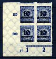 Z26883)DR 335 B ER-VB Mit Platten-Nr. 37** - Ungebraucht