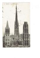 Cpa - 76 - ROUEN - Cathédrale - Travaux échafaudage - LL 59 - 1907 - Rouen