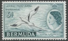 Bermuda. 1953 Royal Visit. 6d MH SG 151 - Bermuda