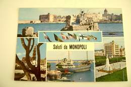 SALUTI  DA  MONOPOLI   NON VIAGGIATA COME DA FOTO  ARCH39 - Bari