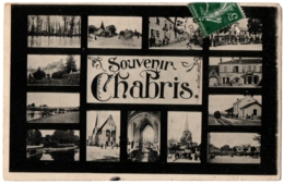 CPA 36 - CHABRIS (Indre) - Souvenir De Chabris, Multivues - France