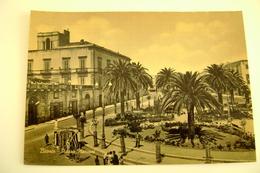 BITONTO - Piazza Marconi  Oil  BENZINA CAROL DISTRIBUTORE COLORE SEPPIA   PUGLIA   NON VIAGGIATA Arch. 39 - Bitonto