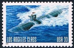 """Etats-Unis - Sous-marin """"Los Angeles Class"""" 3047 (année 2000) ** - Nuovi"""