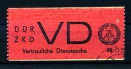 Z29244)DDR ZKD VD 1 Gest. - DDR