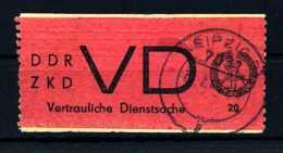 Z29246)DDR ZKD VD 1 Gest. - DDR