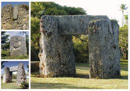1 AK Tonga * Das Haʻamonga ʻA Maui Trilithon - Ein Torbogen Auf Der Insel Tongatapu - Erbaut Im 13. Jh. * - Tonga