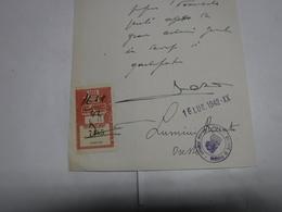 FIRENZE  --- MARCA  DA BOLLO   --  FISCALI --  L.15,00 --  CASSA ASSISTENZA  NAZI0NALE  SINDACATO FASCISTA MEDICI - Fiscales