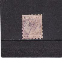 SAINTE LUCIE 1883 VICTORIA Yvert 26 Oblitéré - Ste Lucie (...-1978)