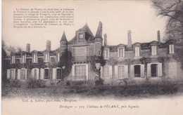 24 Dordogne - Château De PECANY Près Sigoulès - Ed. Astruc, Bergerac - France