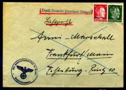 Z31356)Ostland Dienstpost Bedarfs-Brief - Occupazione 1938 – 45
