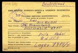 Z31941)DR POW/Kriegsgefangenenbrief 1949 Aus Der UDSSR - Allemagne