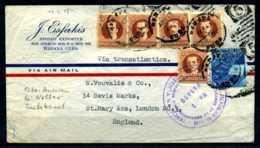 Z31949)Kuba Brief 1945 Nach England Mit Zensuren - Cuba