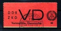Z33094)DDR ZKD VD 1 Gest. - DDR