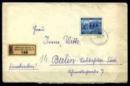 Z33212)B&M 60 E-Brief Nach Berlin - Boemia E Moravia
