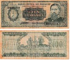 Paraguay 100 Guaranies - Paraguay
