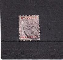 SAINTE LUCIE 1886 VICTORIA Yvert 35 Oblitéré - Ste Lucie (...-1978)