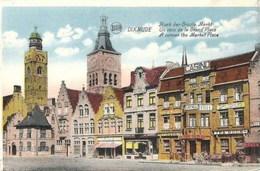 DIXMUDE-DIKSMUIDE - Un Coin De La Grand'Place - Hoek Der Groote Markt - Diksmuide