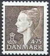 DENEMARKEN 1997 4.75 Margrethe IV Bruin PF-MNH-NEUF - Neufs