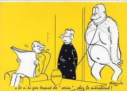 HUMOUR 213 : Illustrateur Alexandre , ( L Amant ) Tu N A Pas Trouvé De Serin Chez Le Marchand - Humour